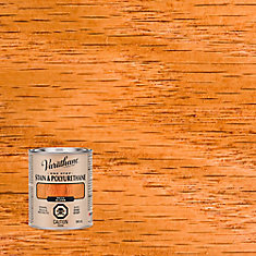 Varathane Stain & Polyurethane Gloss Pecan 946ml