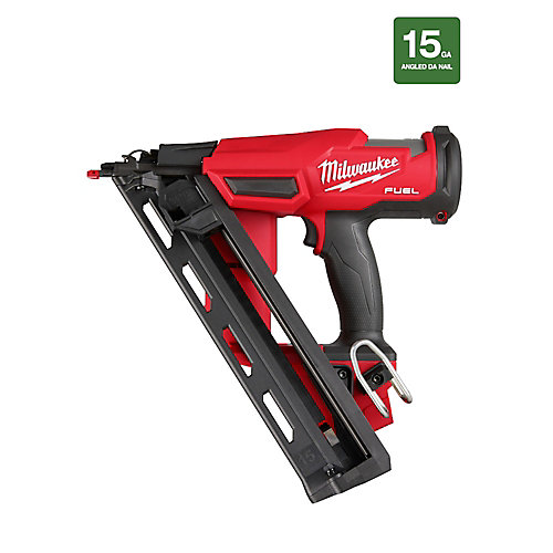 M18 FUEL 18V Lithium-Ion Brushless Cordless 15-Gauge Angled Finish Nailer (Tool-Only)
