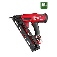 M18 FUEL 18-Volt Lithium-Ion Brushless Cordless 15-Gauge Angled Finish Nailer (Tool-Only)