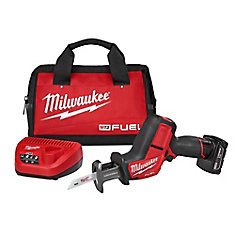 M12 FUEL 12-Volt Lithium-Ion HACKZALL Brushless Cordless Reciprocating Saw Kit W/ 4.0Ah Battery