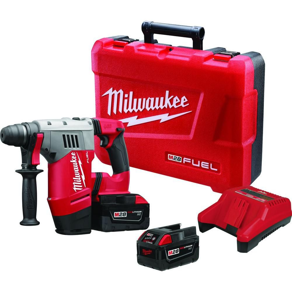 Milwaukee Tool M18 FUEL ONE-KEY 18V Lithium-Ion Brushless Cordless 3/8-Inch Impact Wrench Kit w/(2) 5.0Ah Batteries