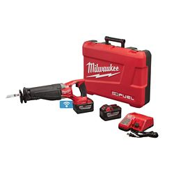 Milwaukee Tool M18 FUEL ONEKEY 18V Li-Ion Brushless Cordless SAWZALL Reciprocating Saw Kit W/(2)9.0Ah Batteries