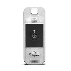 Westinghouse Wifi-Enabled Video Doorbell in Bright Silver