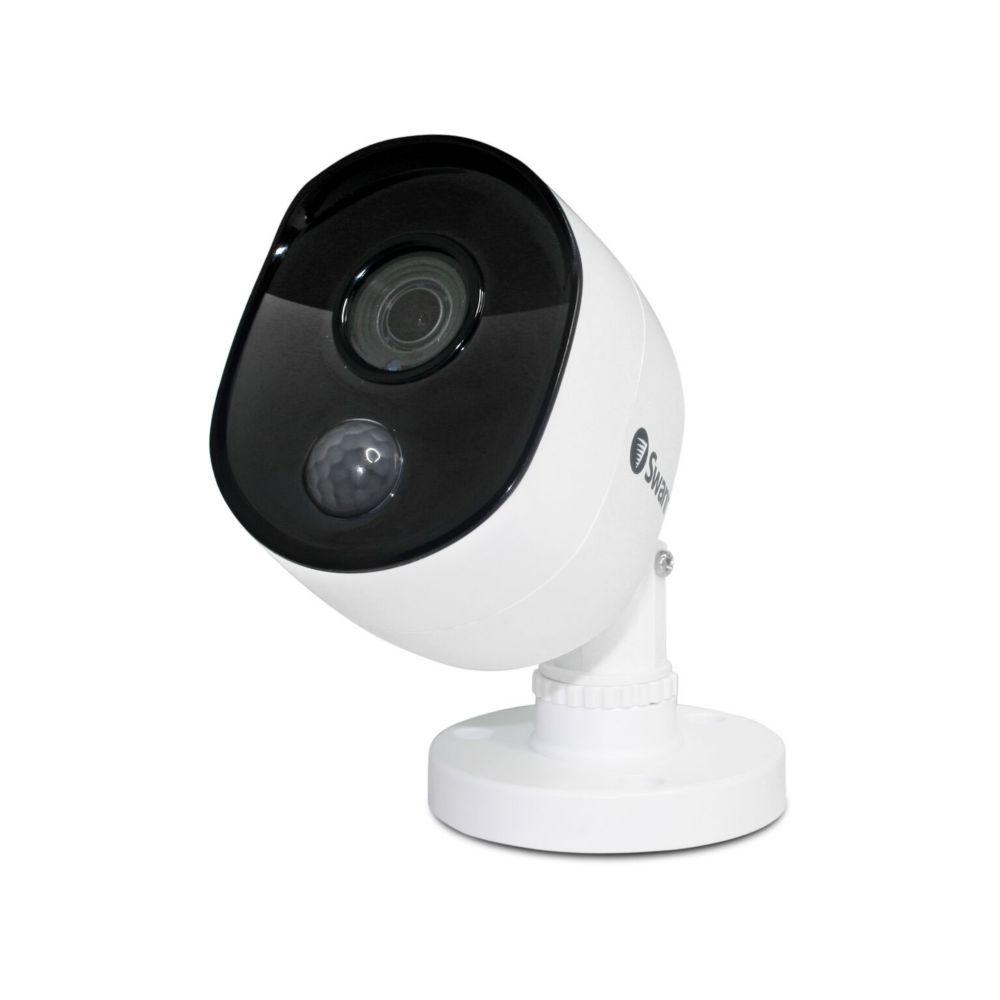 Swann 1080p Outdoor True Detect Thermal-Sensing Bullet Security Camera - White