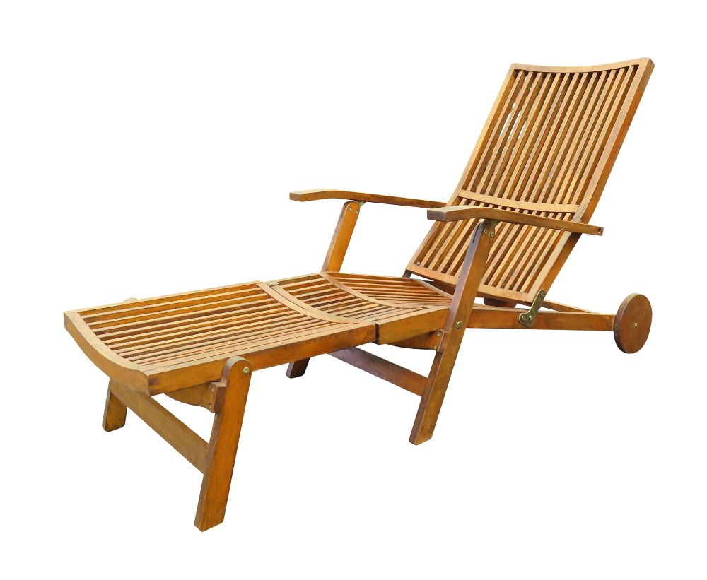 Stockholm Chaise Lounge Deck Chair