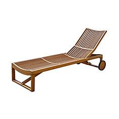 chaise inclinable de soleil