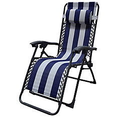 Multi-Position Chaise with stripe