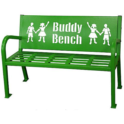 Banc Buddy 4 pieds, vert