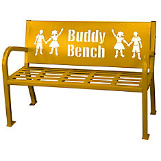 4 ft. Yellow Buddy Bench