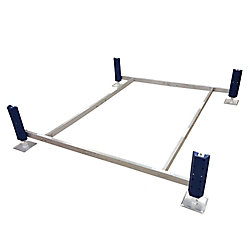 Patriot Docks Shallow Water Pontoon Paddle Boat Lift (1 ft. - 4 ft. Depth)