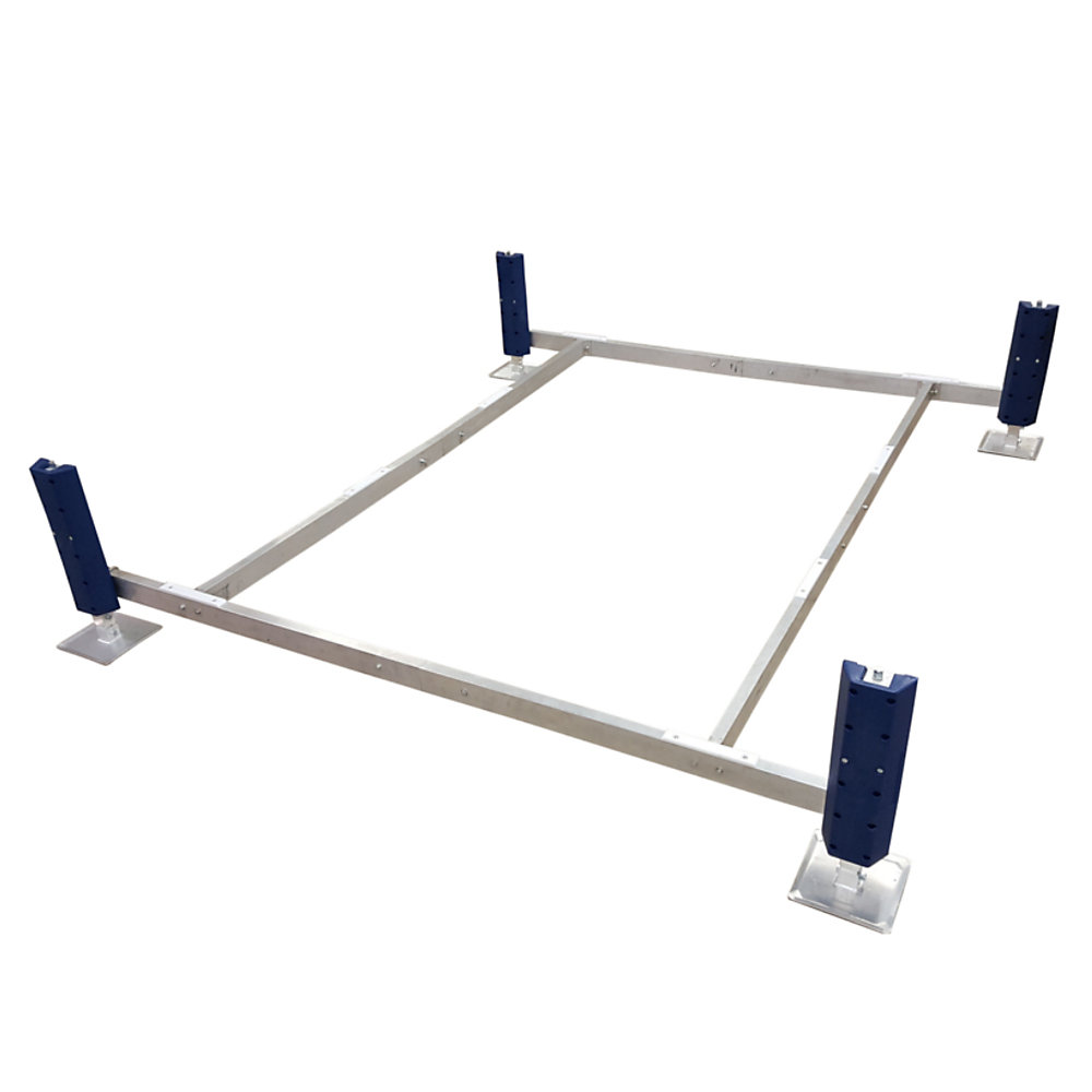 Deep Water Pontoon Paddle Boat Lift (2 ft  -5 ft  Depth)