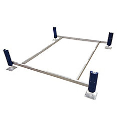 Deep Water Pontoon Paddle Boat Lift (2 ft. -5 ft. Depth)