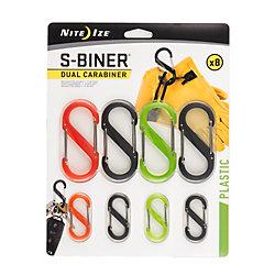 Nite Ize S-Biner Dual Carabiner - 8-Piece Assortment