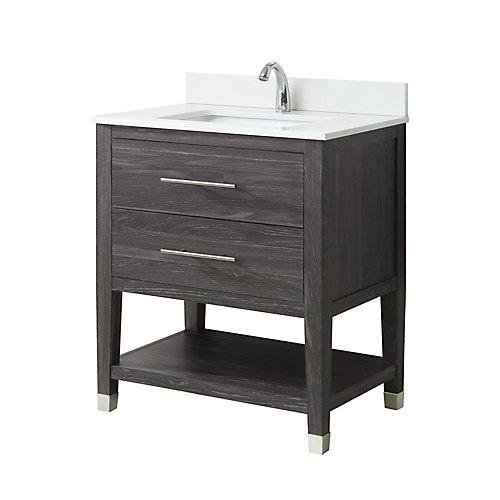 Glacier Bay Chesswood 76,2m Ensemble meuble-lavabo