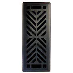 Hampton Bay 3 inch. x10 inch.  Quiver Dance Oil Rubbed Bronze Floor Register Single