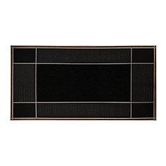 Runway 23-inch x 46-inch Brown Door Mat