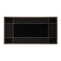 Floor Choice Tapis d'accueil, 23 po x 46 po, Runway, brun