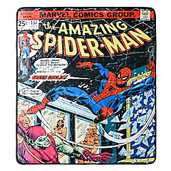 Marvel Spider-Man Picture Perfect Throw Blanket