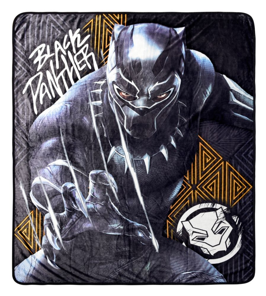 Marvel Black Panther Picture Perfect Throw Blanket