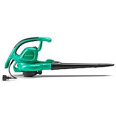 12 Amp Electric Corded Handheld Leaf Blower/Vacuum, WE12B