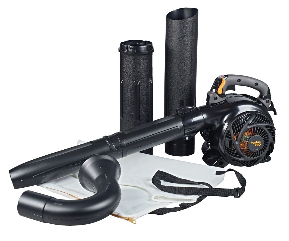 Poulan Pro 25cc 2-Cycle Gas Leaf Blower/Vacuum, PPBV25