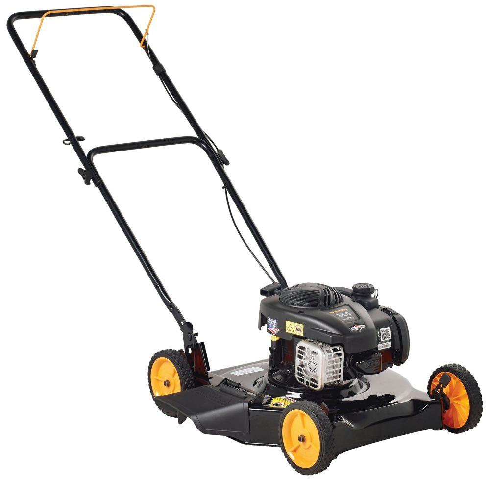 Poulan Pro 125cc Push Gas Lawn Mower 20 inch, PR450N20S