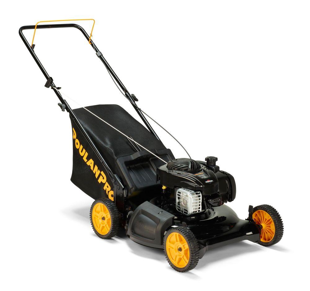 Poulan Pro 140cc 3-in-1 Push Gas Lawn Mower 21 inch, PR550N21R3