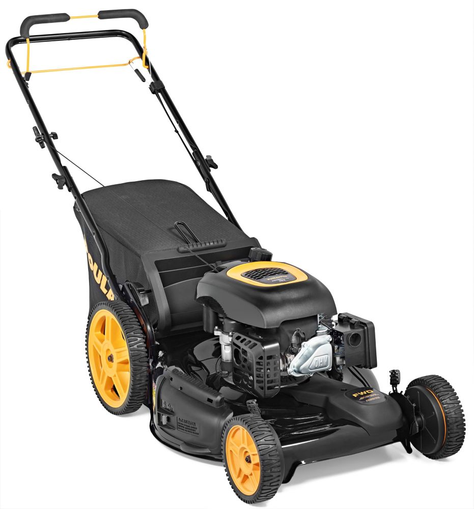 174cc 3-in-1 Front Wheel Drive Gas Lawn Mower 22 inch, PR174Y22RHP