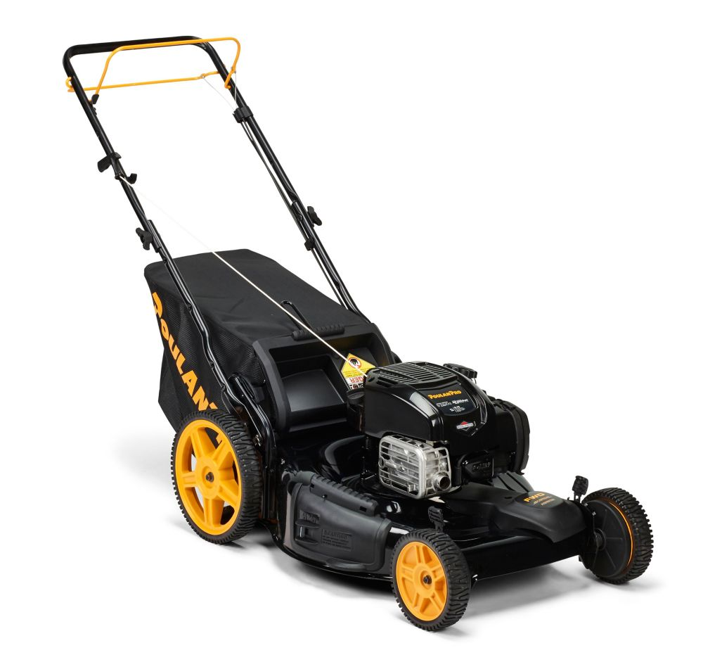 163cc 3-in-1 Front Wheel Drive Gas Lawn Mower 22 inch, PR675Y22RHP