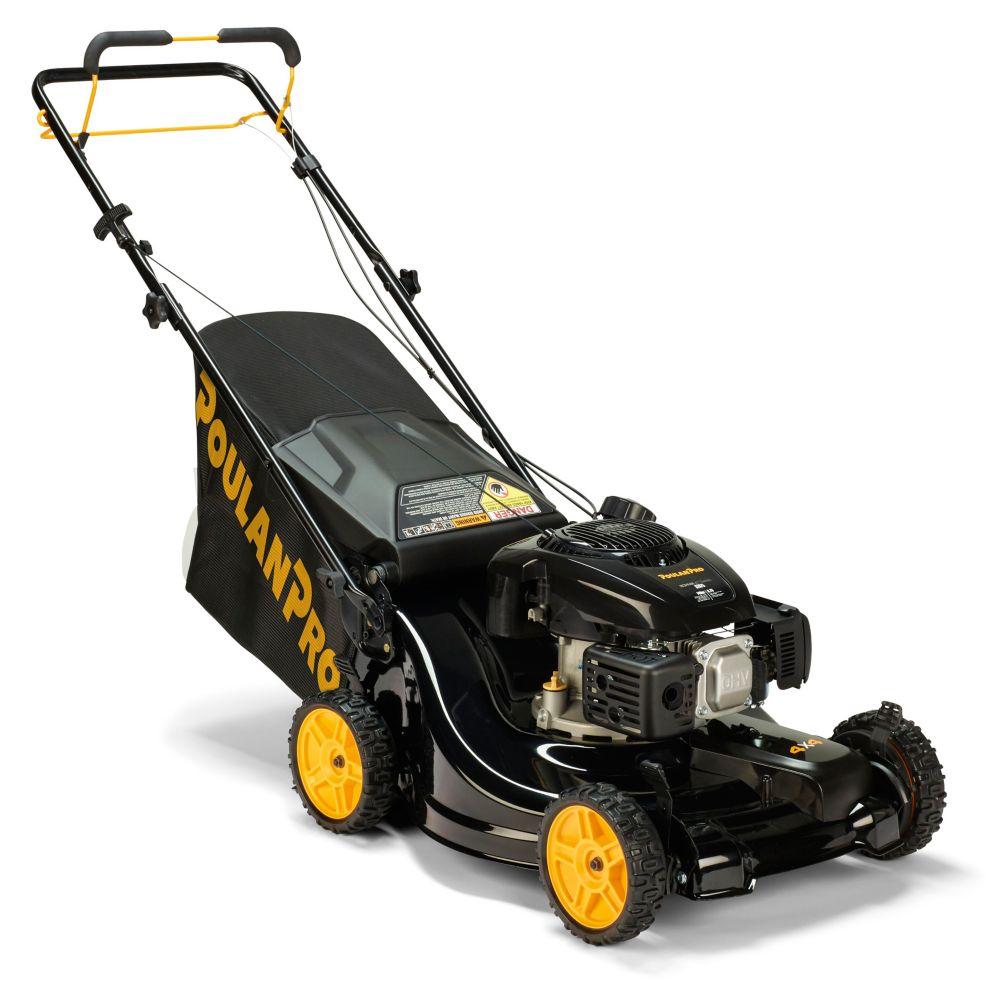 Poulan Pro 149cc 3-in-1 All Wheel Drive Gas Lawn Mower 21 inch, PR675AWD