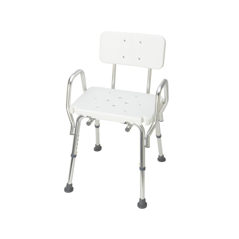 DMI Heavy Duty Bath and Shower Chair with Backrest