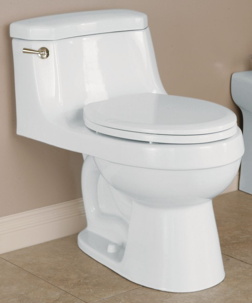 Icera USA The Palermo 1 Piece Toilet Elongated Bowl Shape (In Balsa)