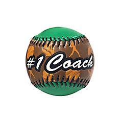 Coach Baseball in Acrylic Cube