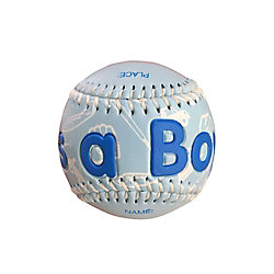 THD It's a Boy Baseball In Clam Shell