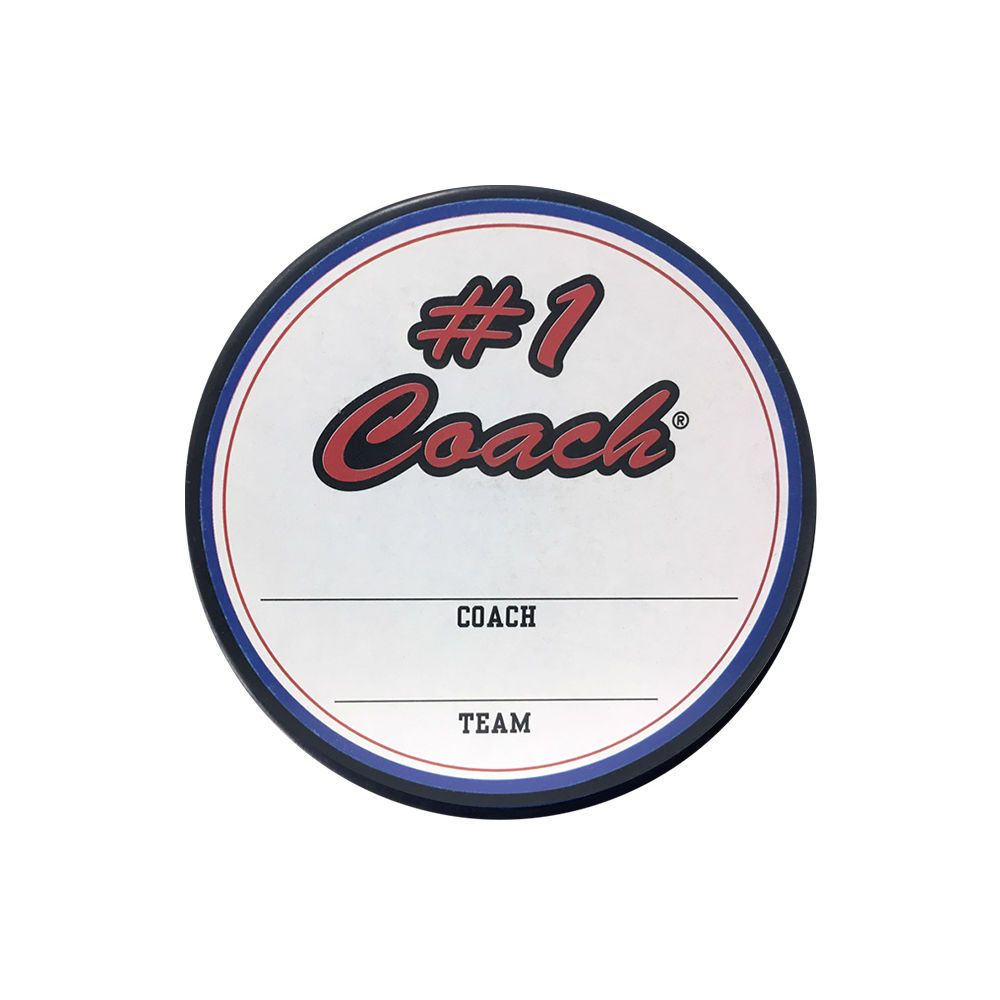 THD Coach Hockey Puck In Cube