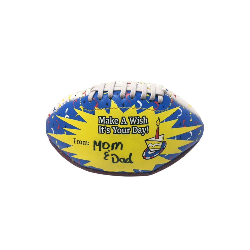 THD Happy Birthday Mini Football Gift