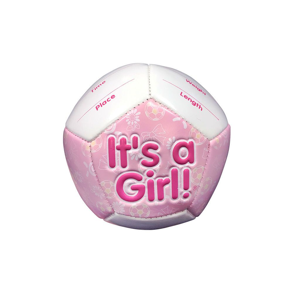 It's a Girl Mini Soccer Gift Pack