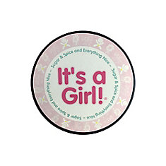 It's a Girl Hockey Puck In Clam Shell