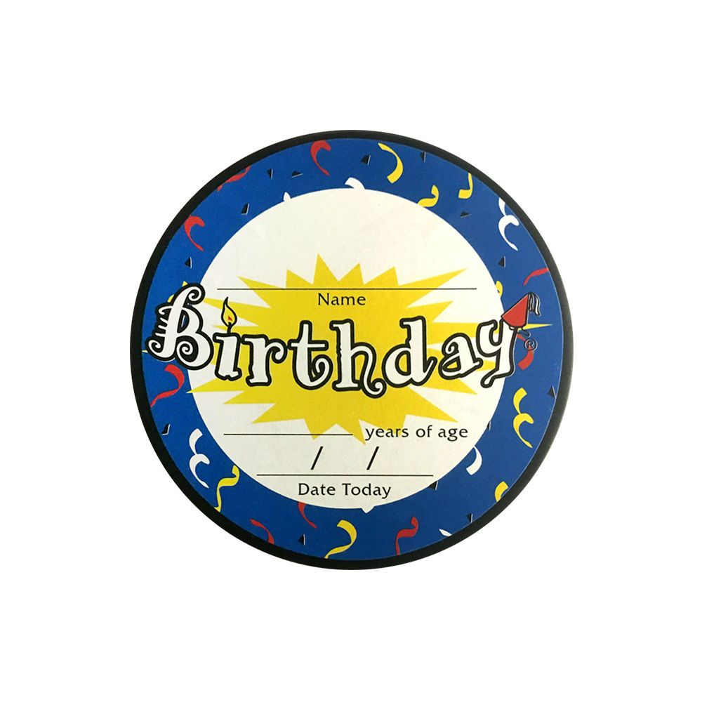THD Happy Birthday Hockey Puck