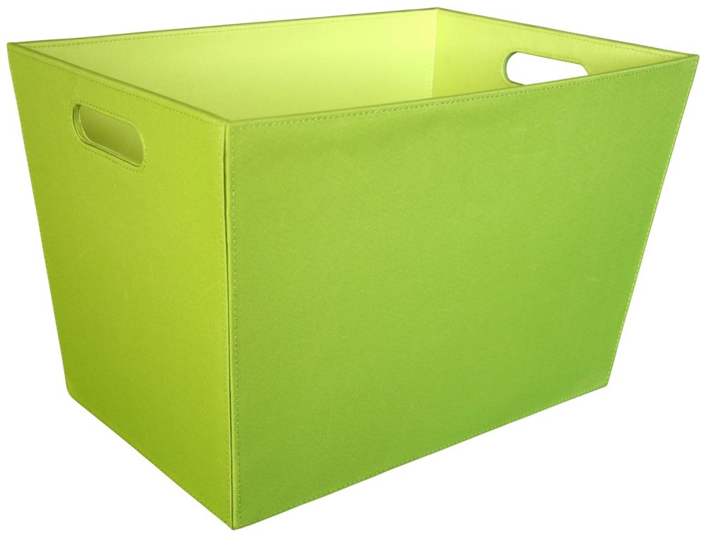 18-inch Tapered Tote, Green