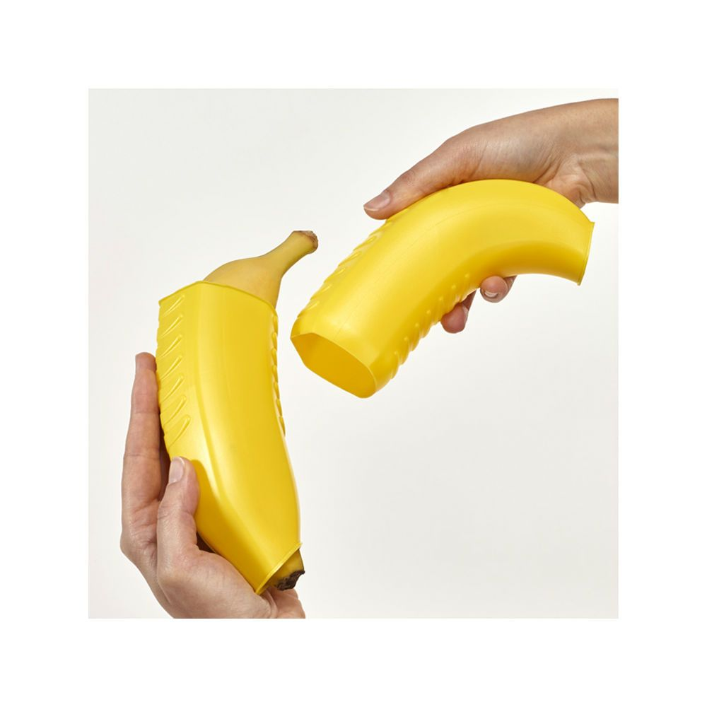 Metaltex Expandable Plastic Banana Carrying Box