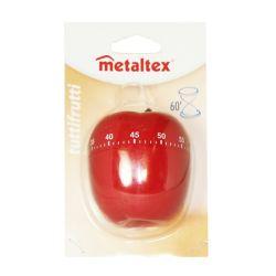 Metaltex Tutti-Frutti 60-Minute Mechanical Timer