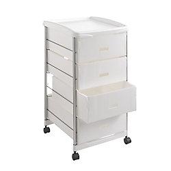 Metaltex Basel Storage Cart