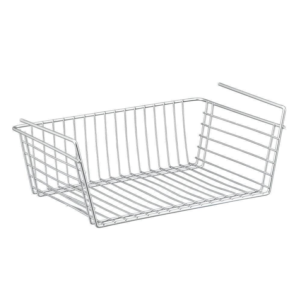 Polytherm Undershelf Baskets: Knape & Vogt Under Sink Basket - 12.125 Inches Wide