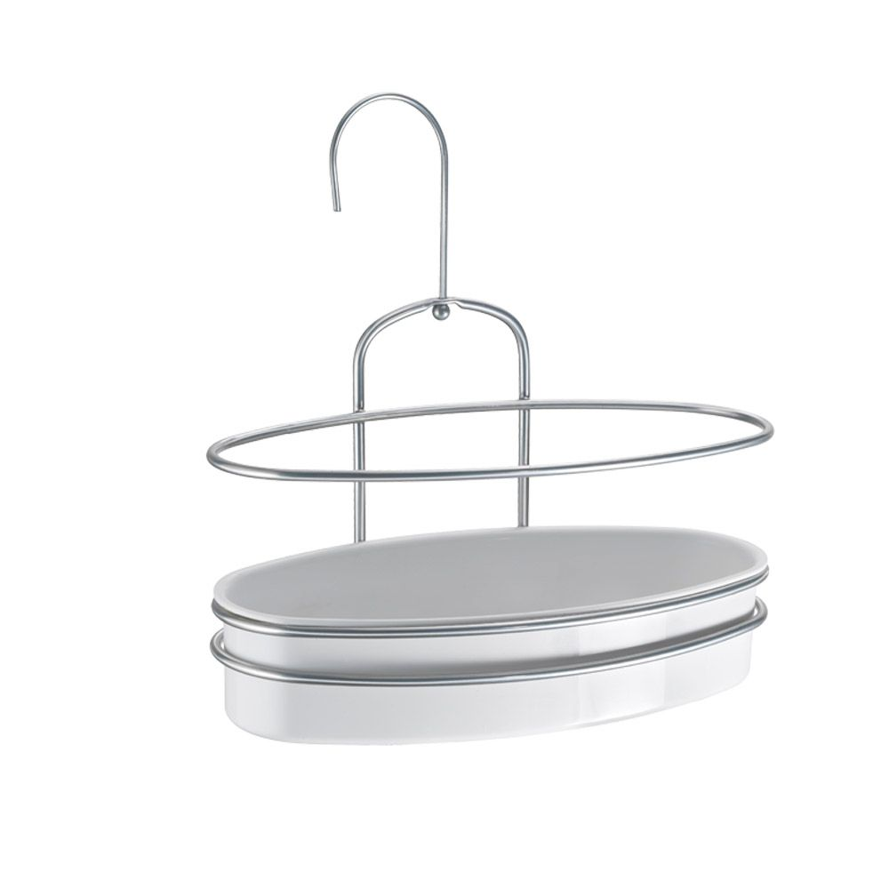 Metaltex Orbit 1 Tier Shower Caddy