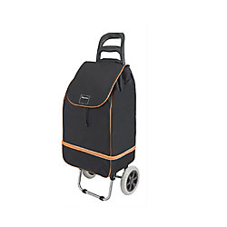 Metaltex Lily Expandable Shopping Cart, Orange