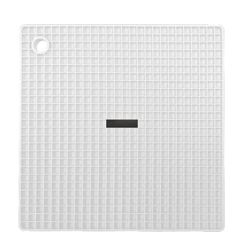 Siliconezone Grid Pot Holder White