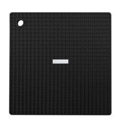Siliconezone Grid Pot Holder Black