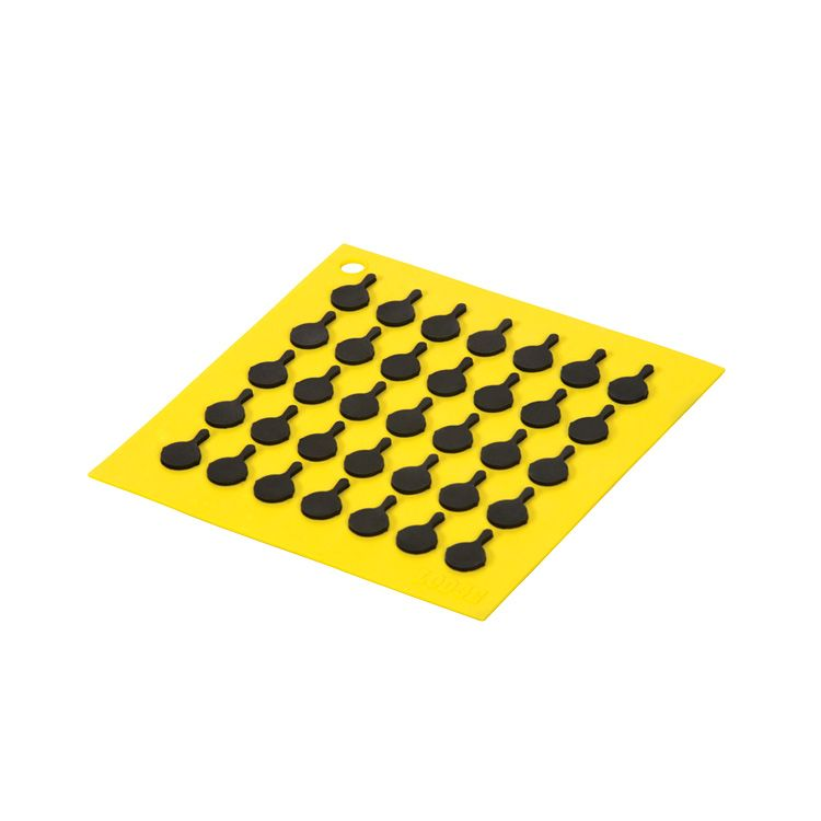 Silicone Trivet, Yellow
