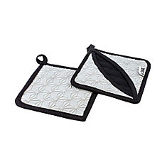 Silicone And Fabric Trivet, Gray